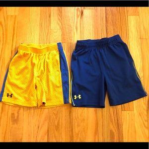 Under Armour Boys Mesh Shorts size 4
